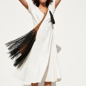 Zara Puffy Sleeve Dress - NWT!